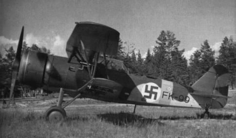 The Fokker C.X was a biplane scout and light bomber designed in 1933. It had a crew of two (a pilot and an observer).