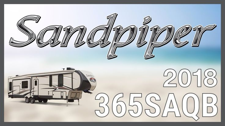 "2018 Forest River Sandpiper 365SAQB Fifth Wheel RV For Sale RV World Get this 2018 Forest River Sandpiper 365SAQB now at http://ift.tt/2wQpj0k or call RV World today at 616-965-2250!  Travel with elegance and style backed by world class quality in the new 2018 Sandpiper 365SAQB. Find yours today at RV World!  This is a double-axle fifth wheel travel trailer that can sleep up to 8 people with welded aluminum-framed vacuum bonded laminated superstructure full walk-on 3/8"" roof decking painted…"