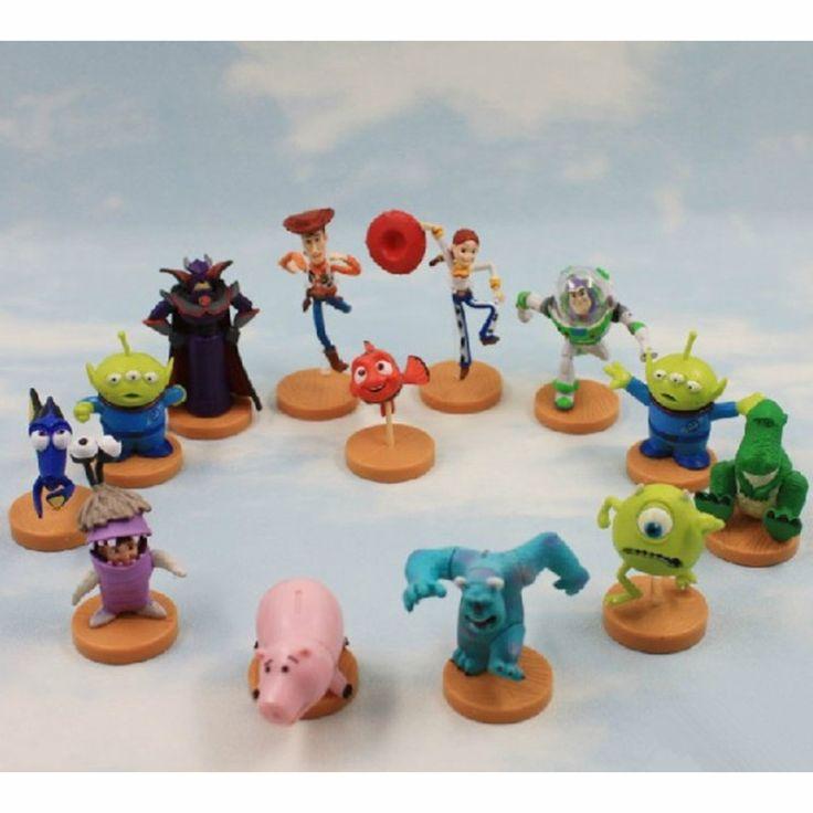 5 компл./лот история игрушек базз лайтер PVC фигурки игрушки 13 шт./компл. 3 ~ 7 см большие подарки
