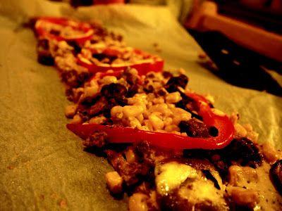 Vegaaninen ruokablogi. Pizzaa