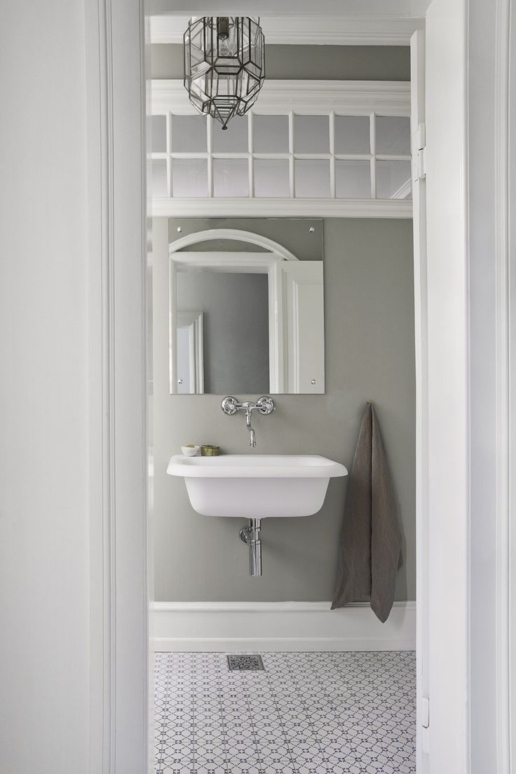The charm of vintage bathrooms from 1940s interior design - Bathroom In A Frederiksberg Home By Natalia Sanchez Echevarria