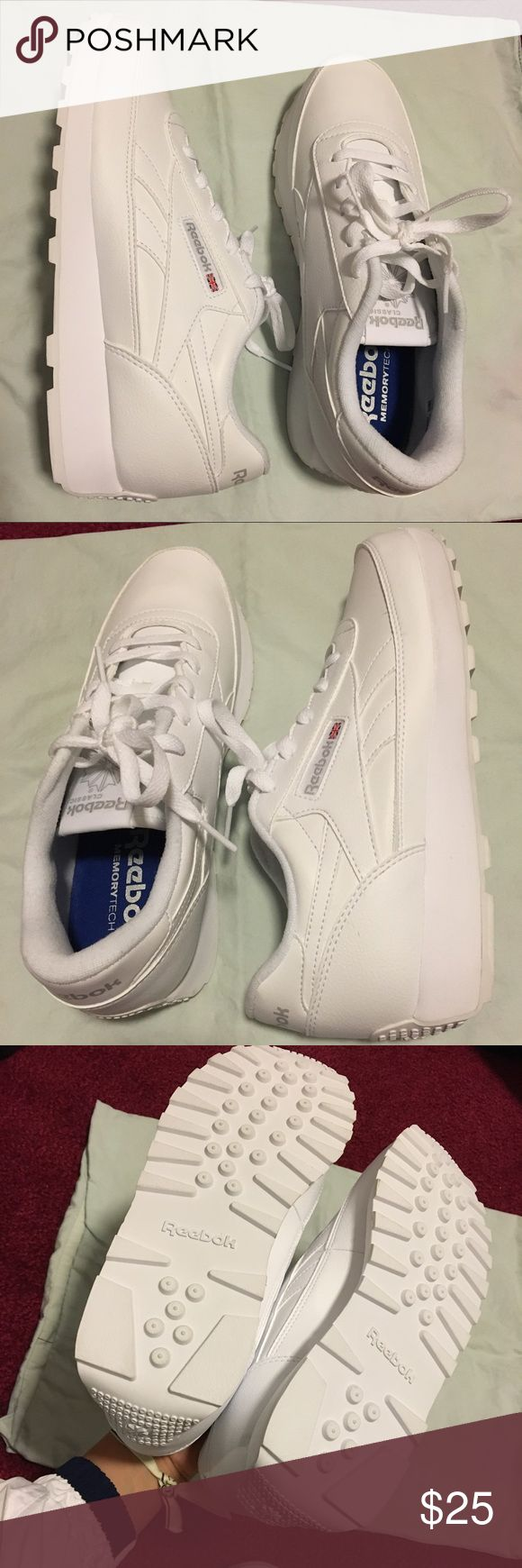 Reebok Classic Renaissance Sneaker Price negotiable! Brand new without box. Feel free to ask questions or for more pictures in the comments or text me at (415) 806-5373. Reebok Shoes Sneakers