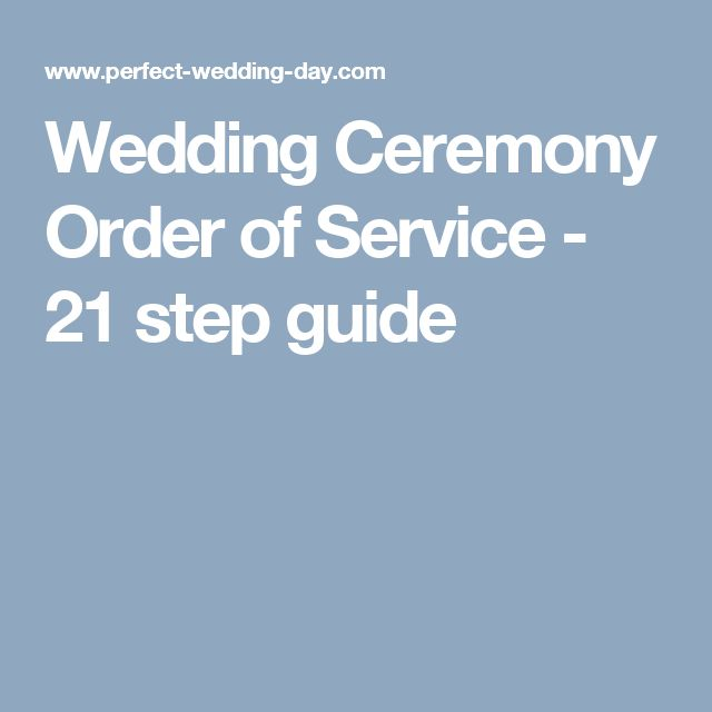 The 25+ best Order of wedding ceremony ideas on Pinterest Order - wedding program inclusions