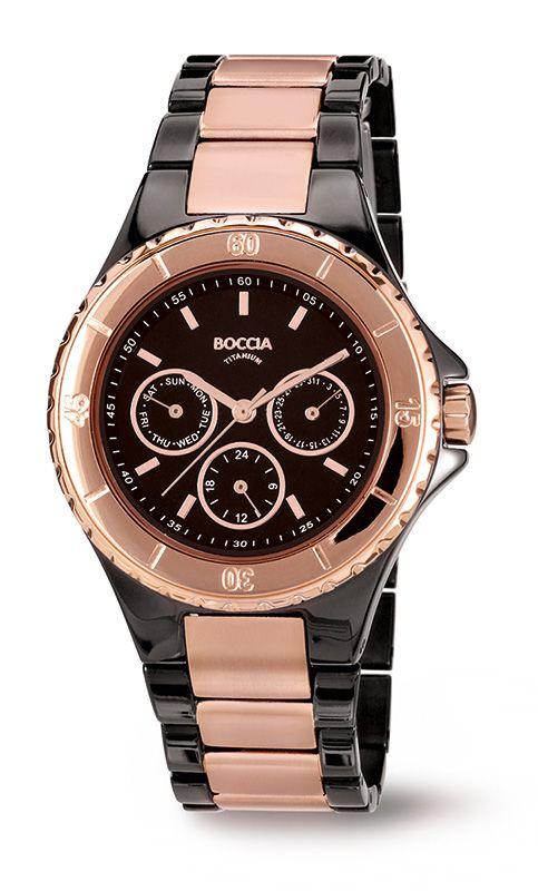 3760-02 Midsize Boccia Titanium Watch