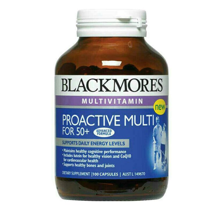 PROACTIVE MULTIVITAMIN for 50+