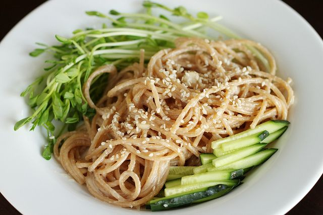 sesame peanut noodles | Recipes I want to try | Pinterest