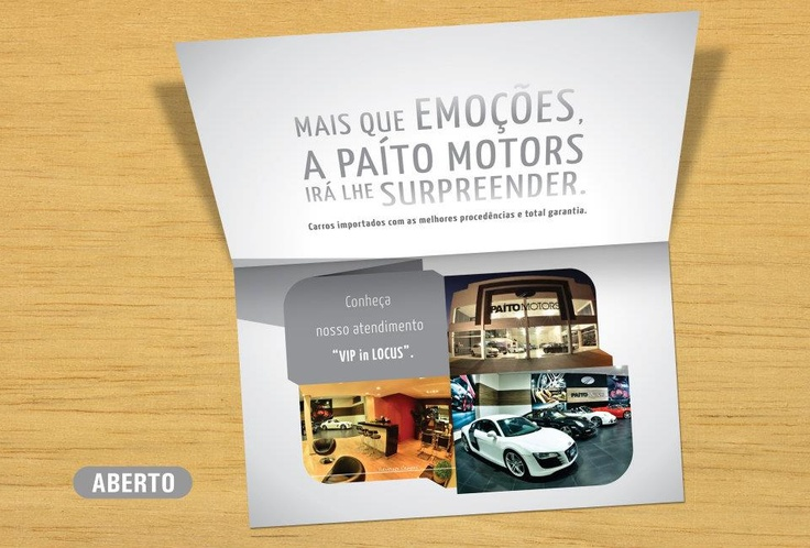 Paíto Motors: Folder Institucional