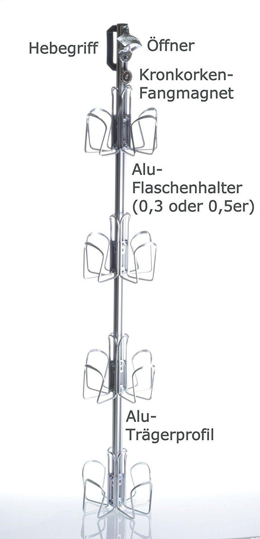 BIERSAFE: Outdoor / Garten Erdloch Bier Kühler, Beer safe cooler / Rohr / Kühlschrank ohne Strom, Bar-Gadget!