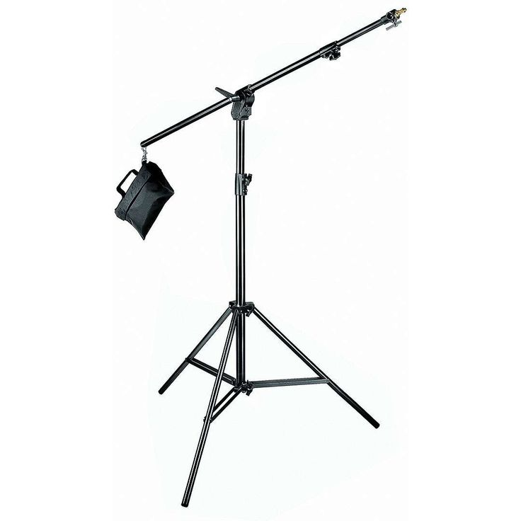 Manfrotto 420B (420-B) Combi-Boom Stand with Sandbag (black aluminium)