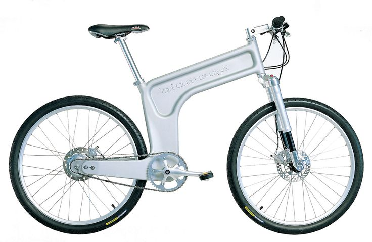 """Another """"what the future used to look like"""": Marc Newson's design for Biomega. I actually like some other Biomegas better, including a shaft-drive model (I have seen one in real life, in Helsinki; will post photo)."""