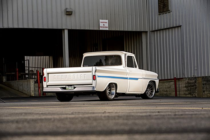 What is it about classic trucks that make them irresistible? Country music artist James Otto inherited his grandfather's beloved #Chevy #C10 pickup and decided to give it a #protouring restoration in his grandfather's honor, with the help of Triworks Hot Rods and 19x10/19x12 #Forgeline #RB3C Concave wheels finished with Titanium centers & Brushed outers! See more at: http://www.forgeline.com/customer_gallery_view.php?cvk=1814  Photo by McGaffin Digital Photo courtesy of Hot Rod Magazine.
