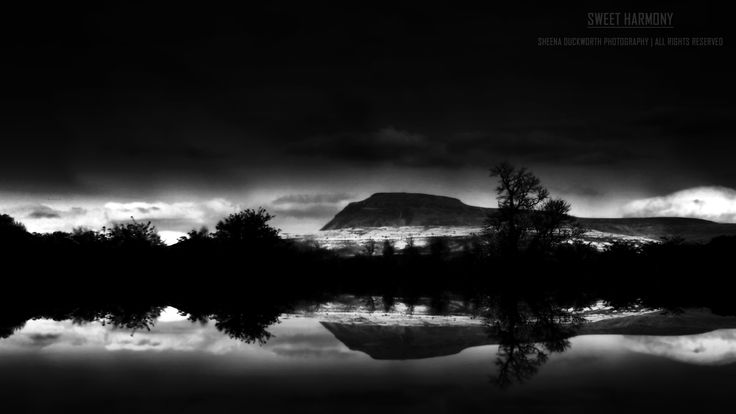 Scenery, Landscape, Lake, Water, Mountain,  Peak, Sky, Clouds, Mood, Moody, Atmosphere, Scenic, Dreamy, Darkness and Light, Sheena Duckworth Photography
