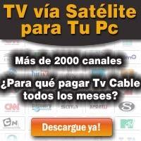 Tv en vivo para la Pc, mas de 2000 canales: http://tvenvivo2000.blogspot.com