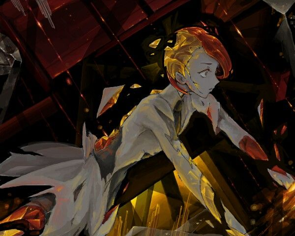 "Source: ""Houseki no Kuni"" Characters: ""Rutile"" Artist: ""- (Pixiv 6472465)"""