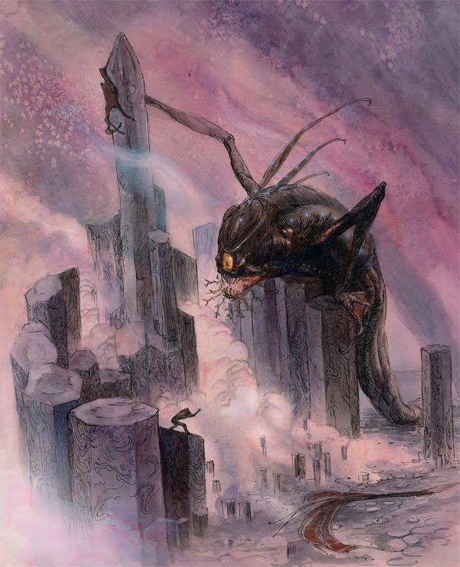 Shub Niggurath Goat Dagon by Bernadette Ca...