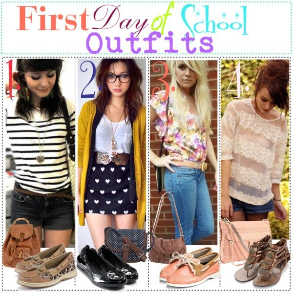 First Day of School Outfits – Styles
