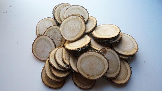 Cherry wood slices, wood slice blank, wood wedding favors, tree slice bulk, log slice blank, wood ornament blanks, wood slice art