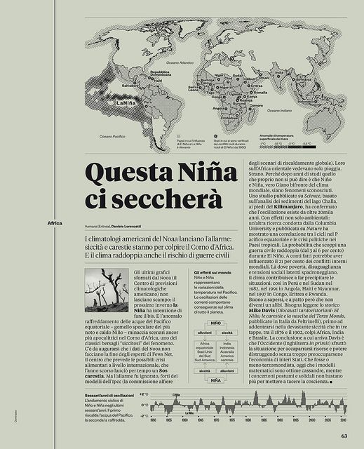 World Report: IL redesign by Francesco Franchi Maps: Elsa Jenna and Davide Mottes