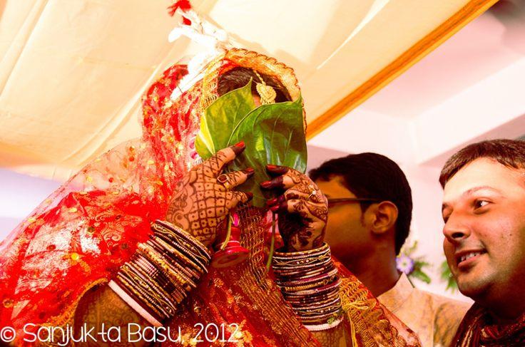 Bengali wedding: Shbho Drishti