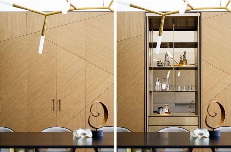 Alexandra Kidd Design Mosman House Project Bar & Detail