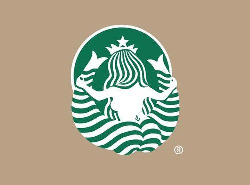 The back of Starbucks