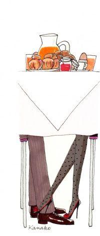 Petit déjeuner à la Cour des Loges - P'tits Plaisirs - My Little Lyon