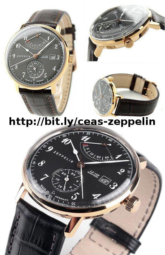 Ceas barbatesc de mana Zeppelin LZ129 HINDENBURG 7064-2