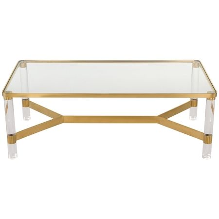 1000 Ideas About Lucite Coffee Tables On Pinterest Coffe Table Lucite Furniture And Brass