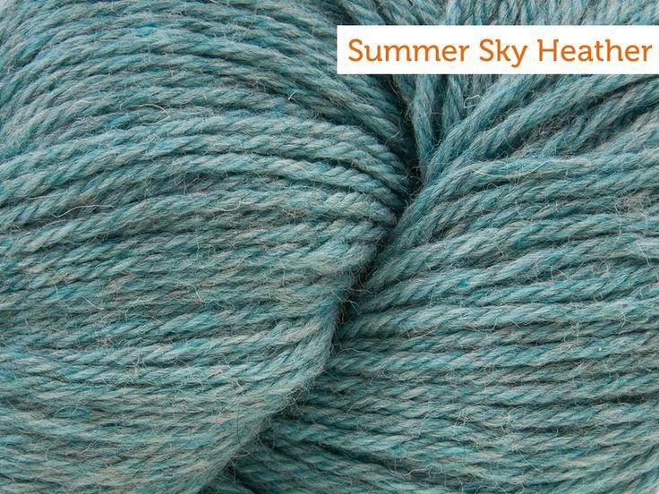 Cascade 220 Yarn - summer sky heather