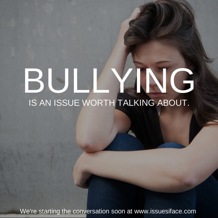 """Bullies convince you that you are utterly alone and that's a very dangerous place to be."""