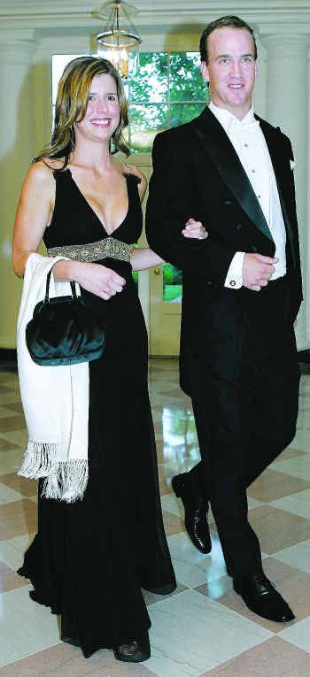At the White House~Damn he looks good in a Tux!  Ashley looks beautiful too! Do not take this wrong but, are you allowed to show that much cleavage at the  White House? Just asking never been their myself.