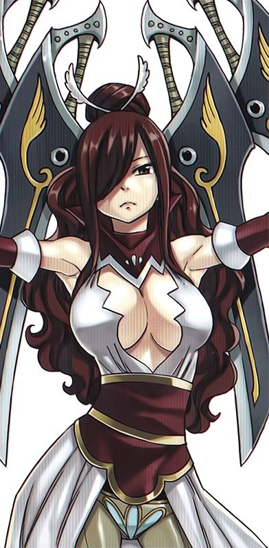 Erza Scarlet armour