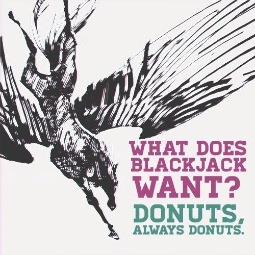 Blackjack.. Percy Jackson