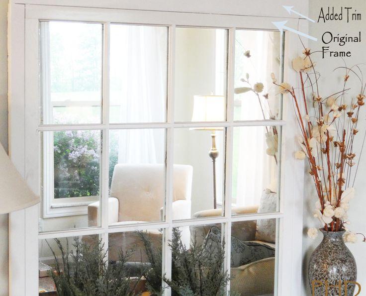 how to make a sea glass window pane