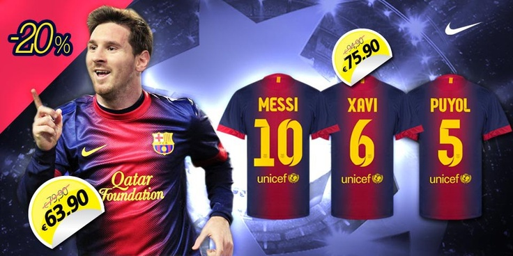 Barcelona 2012/13 with 20% off!!!    http://www.sportarena.gr/el-gr/eur/barcelona/barcelona?page=4=1=3#focus_source=pinterest.com_medium=referral_campaign=SaleBarcaKits20