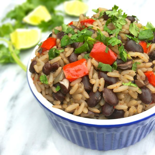Cuban Black Beans and Rice Recipe {3 Benefits of Attending BlogHer ...