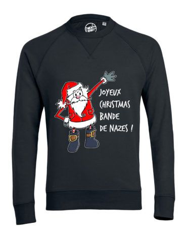 BANDE DE NAZES – Sweat NOIR web 2.0