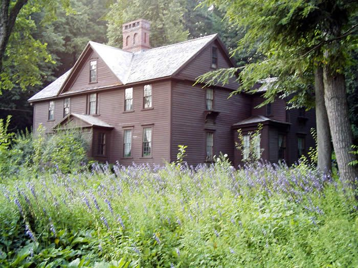 Orchard House from the 1994 film of Little Women in Concord, Massachusetts