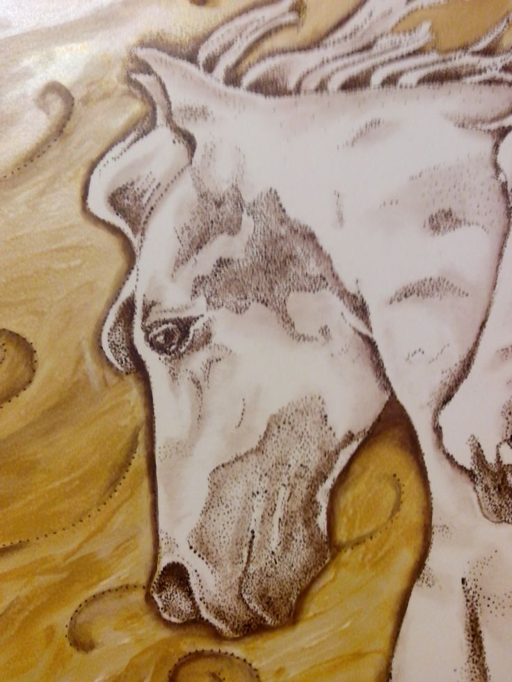 Pintado a mano sobre placa ceramica (diseño propio)