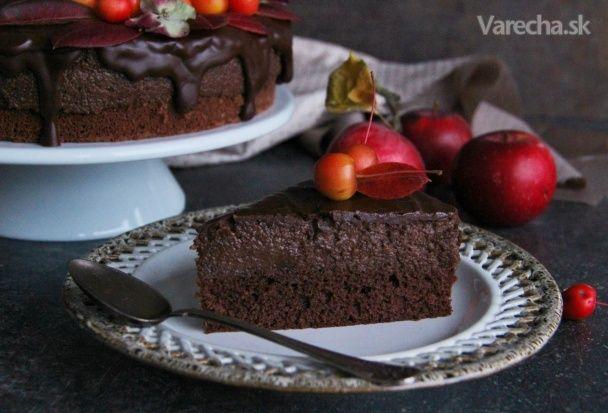 Čokoládovo-jablečný moučník - Recept