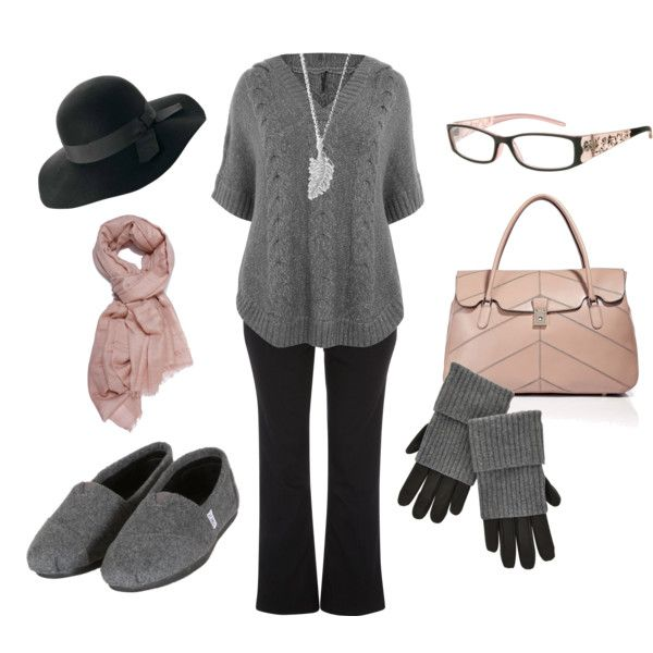 Plus Size Fashion, created by dancinceli on Polyvore -- Love wearing glasses as a fashion accessory! The shoes I HATE tho!