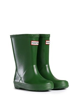 Rain Boots For Toddlers | Rubber Boots | Hunter Boots US: Green Hunters, Rain Boots, For Kids, Hunters Boots, Baby Boys, Cowboys Boots, Hunters Kids, Kids Clothing, Rubber Boots