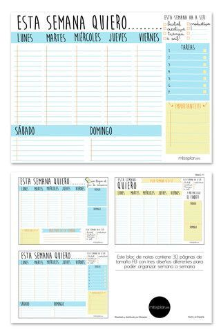 M s de 25 ideas incre bles sobre calendarios imprimibles for Planner casa online gratis