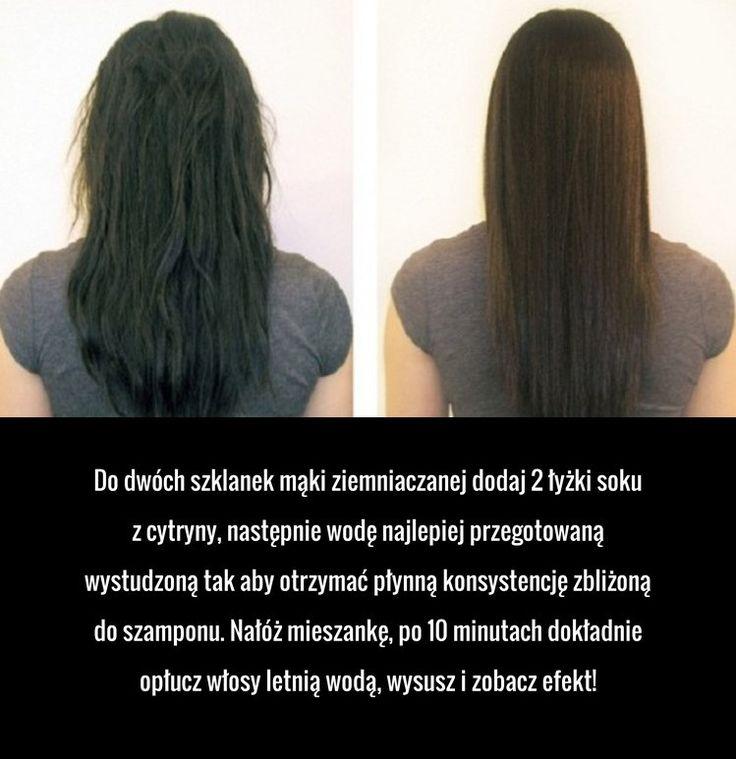 Niezwykły sposób na proste włosy, którego z pewnością nie znasz!