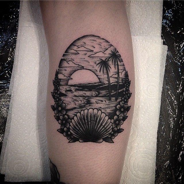 seaside inspired tattoos