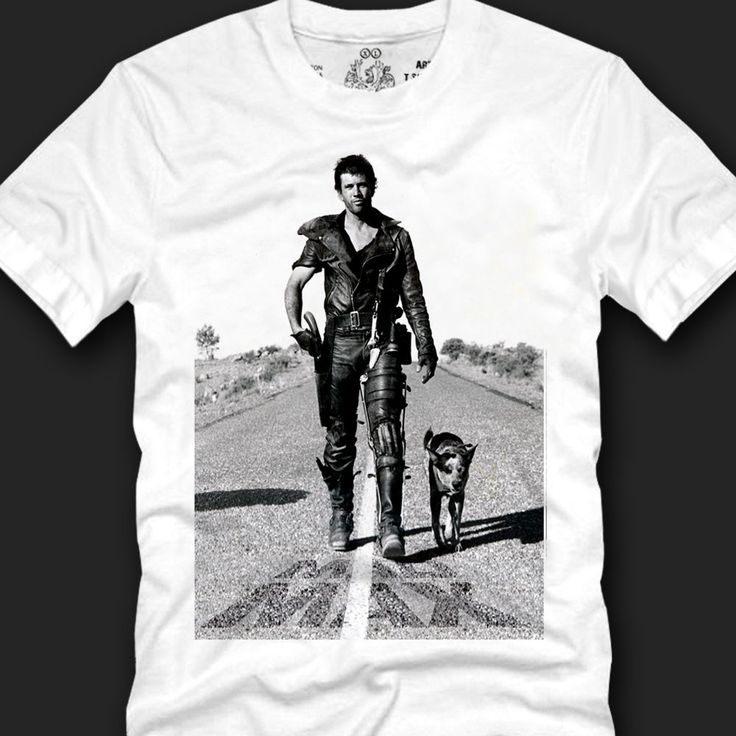 Men's T- shirts Sensual Fashion 100% Cotton, MAD MAX Mel Gibson on the road copy #Koreanleadingfashiontrends #GraphicTee