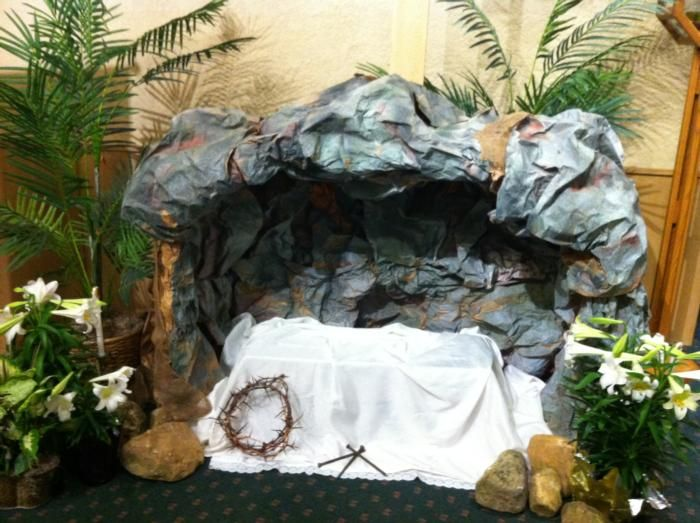 easter church decorations | Church Easter Decoration - Dekoracja wielkanocna kosciola