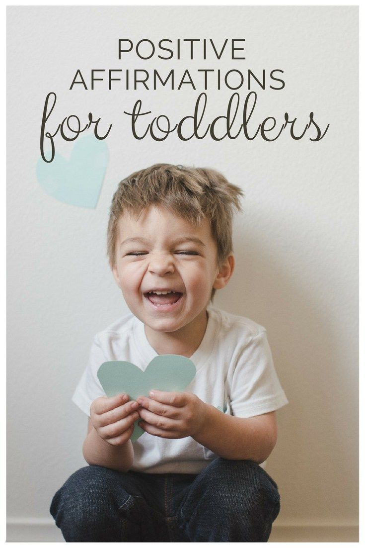 The Key To Raising Happy Child >> Why You Should Speak Positive Affirmations To Toddlers Crafty