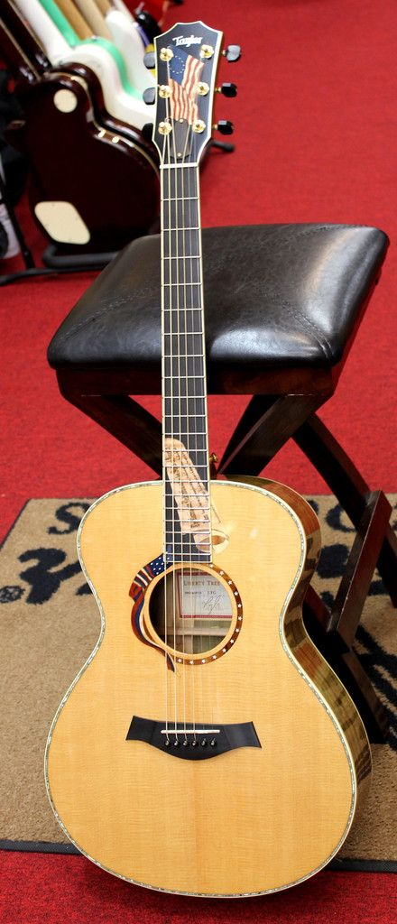 2002 New Old Stock Taylor Liberty Tree Guitar LTG Limited Edition w/OHSC for sale $7995.00