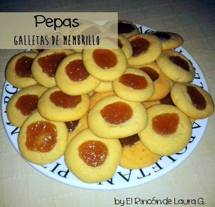 17 mejores im genes sobre cookies galletas en pinterest - Como preparar membrillo ...